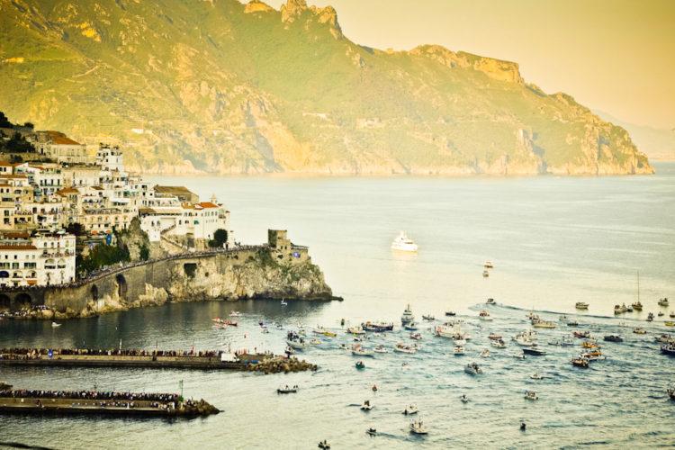 Regattan blir i Amalfi i juni 2020