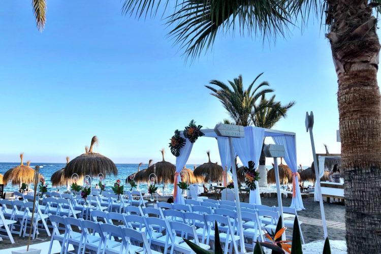 Bröllop på spanska solkusten